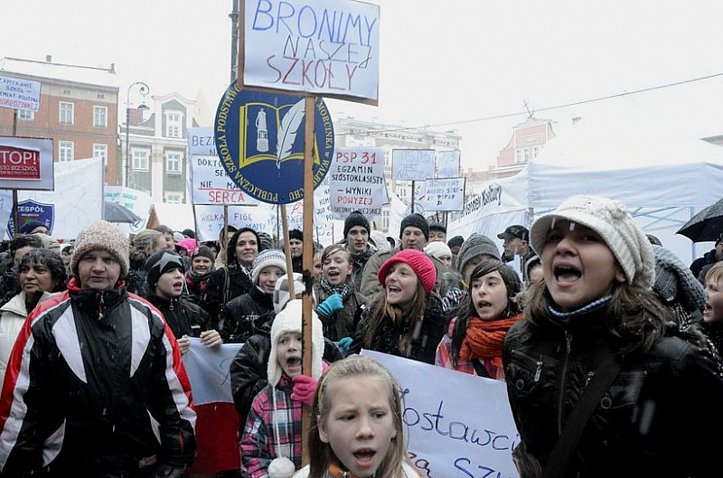 Protest zamiast wigilii