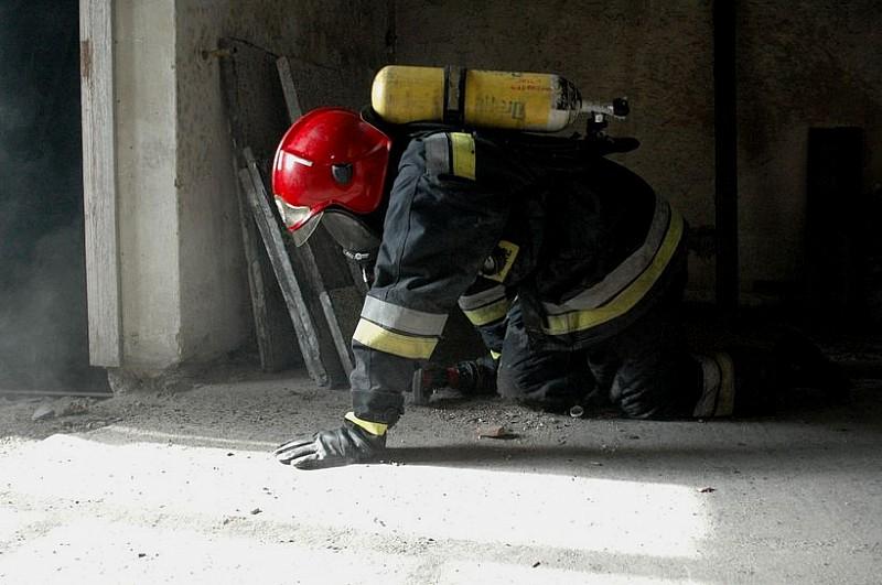 Pożar na Podzamczu