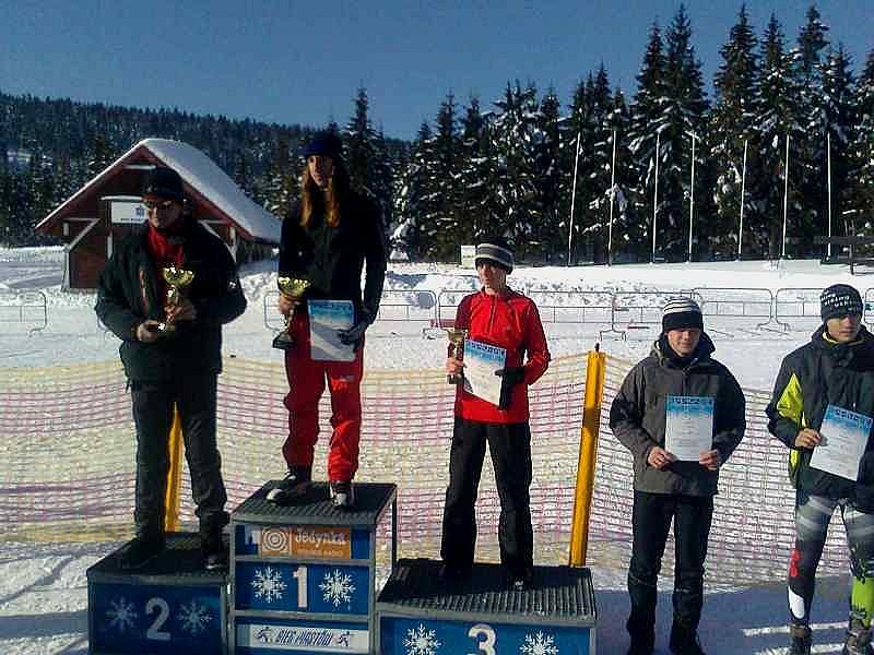Nasi na podium w narciarstwie biegowym