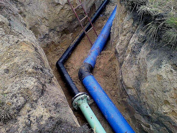 Część Piaskowej Góry bez wody