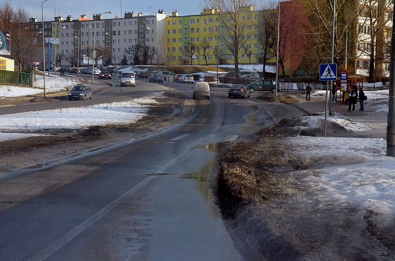 W Wałbrzychu znikają drogi...
