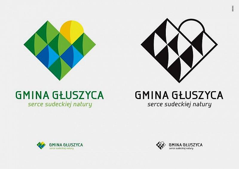 Nowe logo i hasło promocyjne Głuszycy
