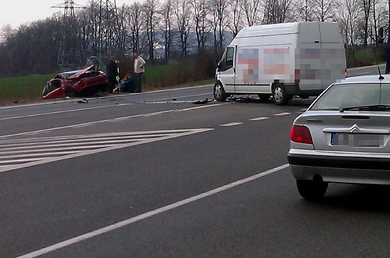 Kolejny wypadek koło Książa