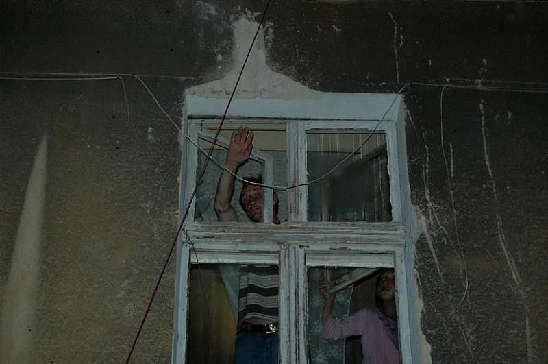 Trąba powietrzna na Sobięcinie - zobacz zdjęcia