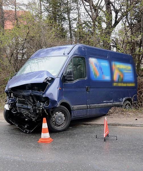 Wypadek między Wałbrzychem a Świdnicą