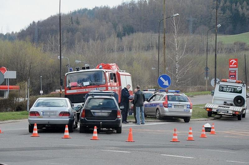 Groźny wypadek na ulicy Noworudzkiej