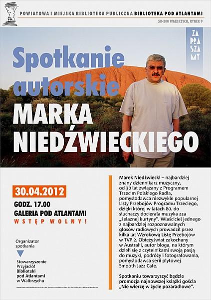 Spotkanie z Markiem Niedźwieckim