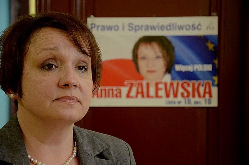 Zalewska szefową PiS w okręgu