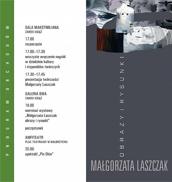 Wystawa prac Małgorzaty Laszczak