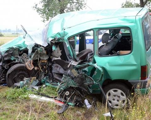 Kierowca osobówki nie przeżył wypadku
