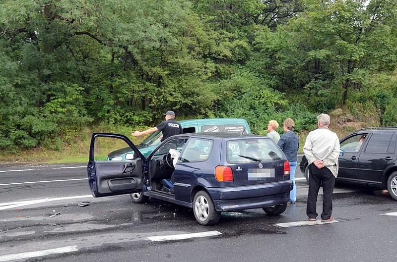 Wypadek przy zjeździe do Świebodzic