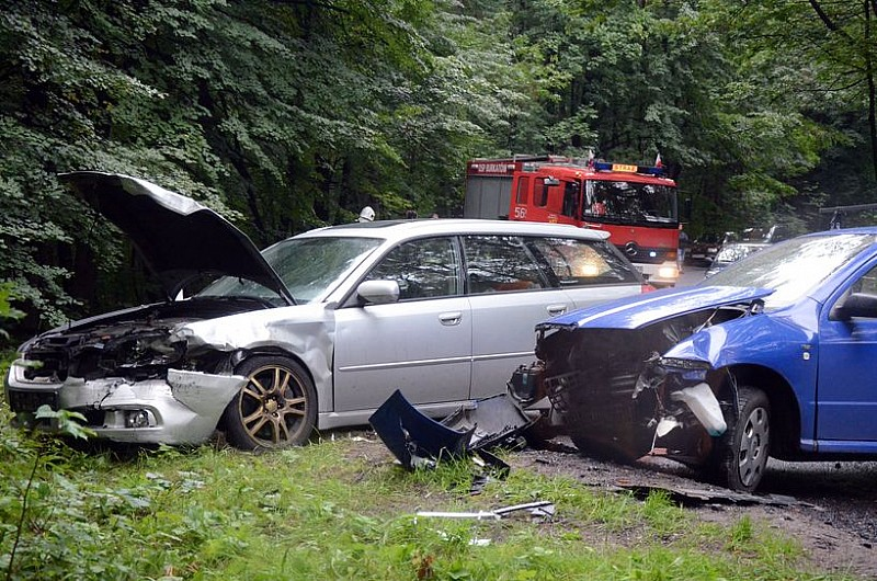 Groźny wypadek w Modliszowie