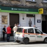 Napad na bank w centrum miasta!