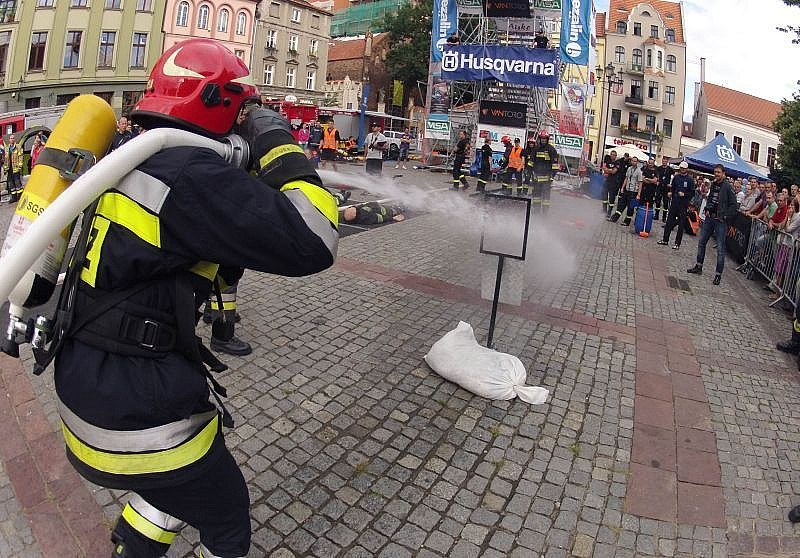 Strażackie zmagania