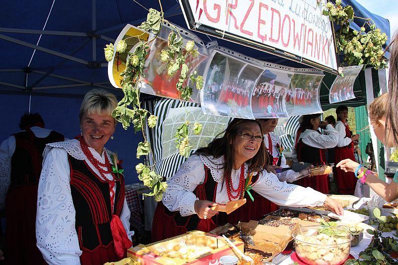 Dożynki i festiwal pieroga - foto