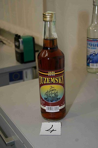 Kolejny skażony czeski alkohol