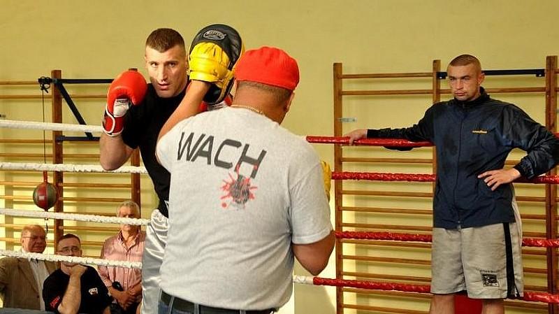 Ostatni trening Wacha