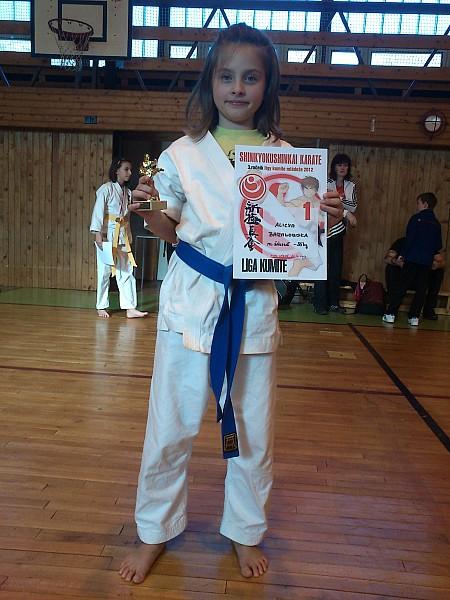 Udany występ karateków