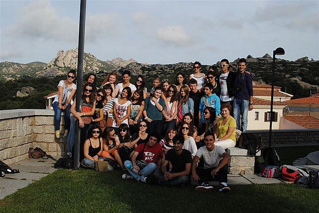 Uczniowie II LO na Sardynii