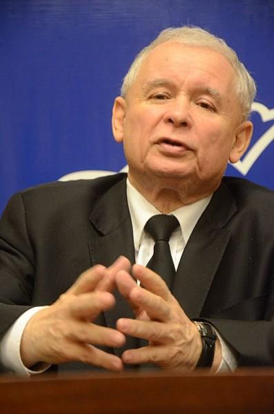 Rozmowa z prezesem Kaczyńskim - video
