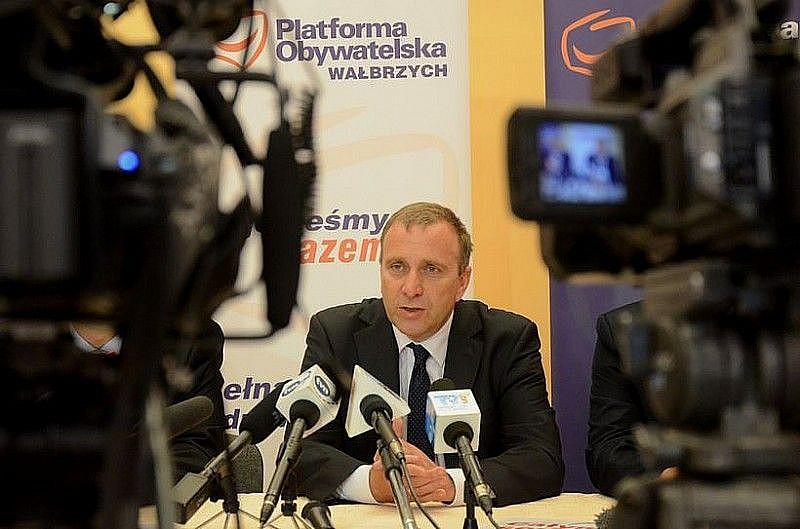 Grzegorz Schetyna w Świdnicy