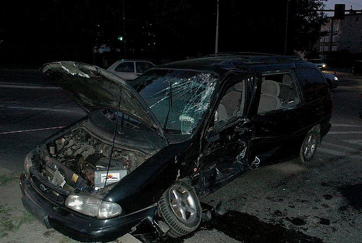 Groźny wypadek koło Obi
