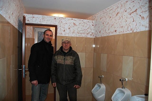 Mają męską toaletę
