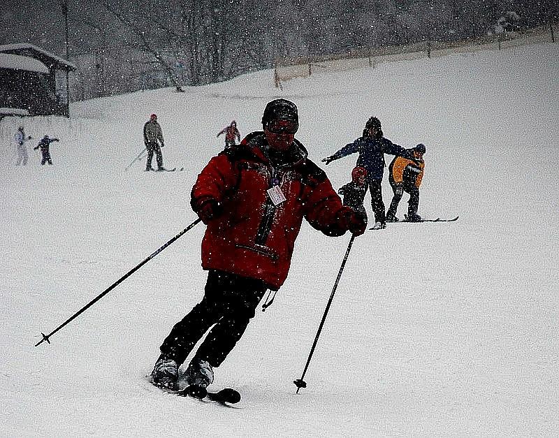 W Łomnicy czekają na śnieg