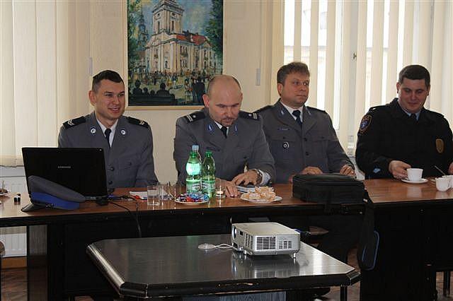 Policjanci ze Świebodzic podsumowali rok