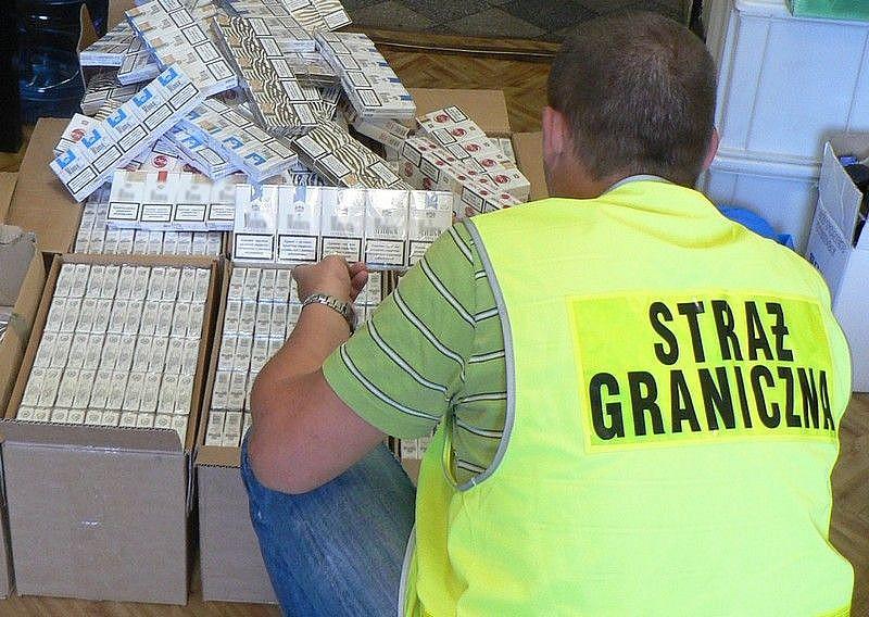 Ujawniono 40 000 sztuk papierosów