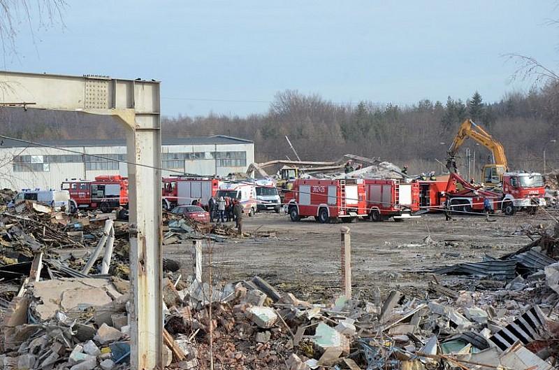 Jedna osoba nie żyje. Katastrofa budowlana w Wałbrzychu