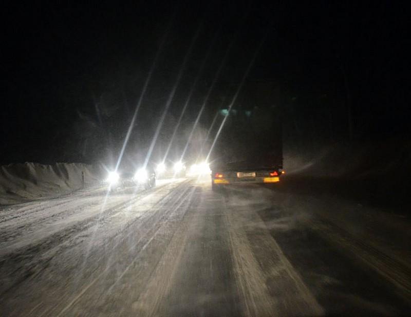 Długa noc przed drogowcami...