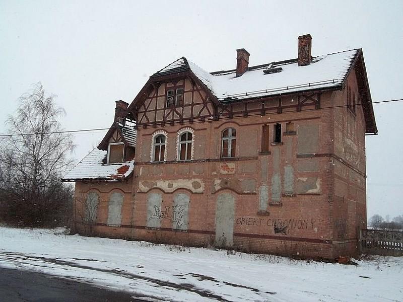 Dworzec Kraszowice do remontu