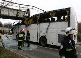 Sztab kryzysowy po wypadku autokaru