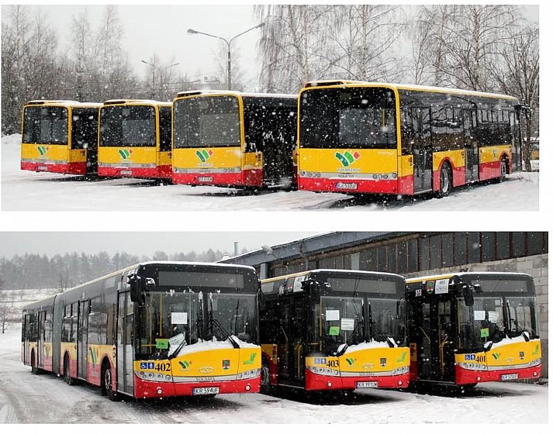 Nowe autobusy w Wałbrzychu
