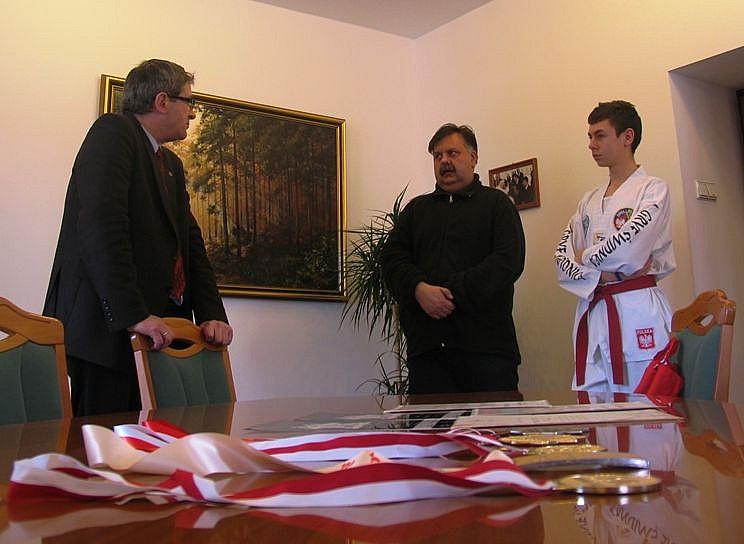 Mistrz taekwondo u prezydenta