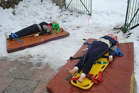 Ćwiczenia ratowniczo-gaśnicze