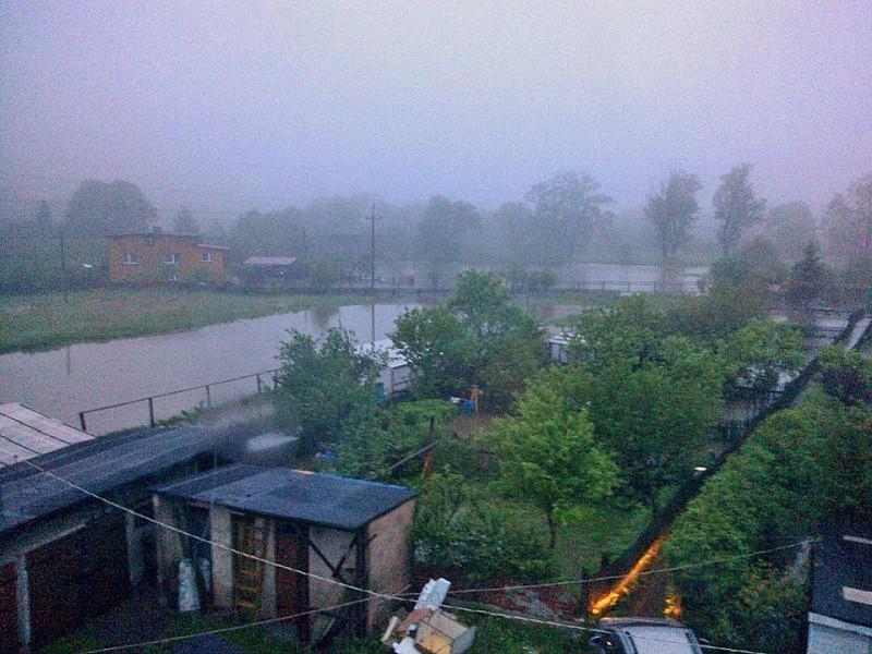 Rzeka w Witkowie pokazała siłę
