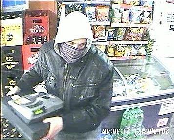 Czy rozpoznajesz tego bandytę?