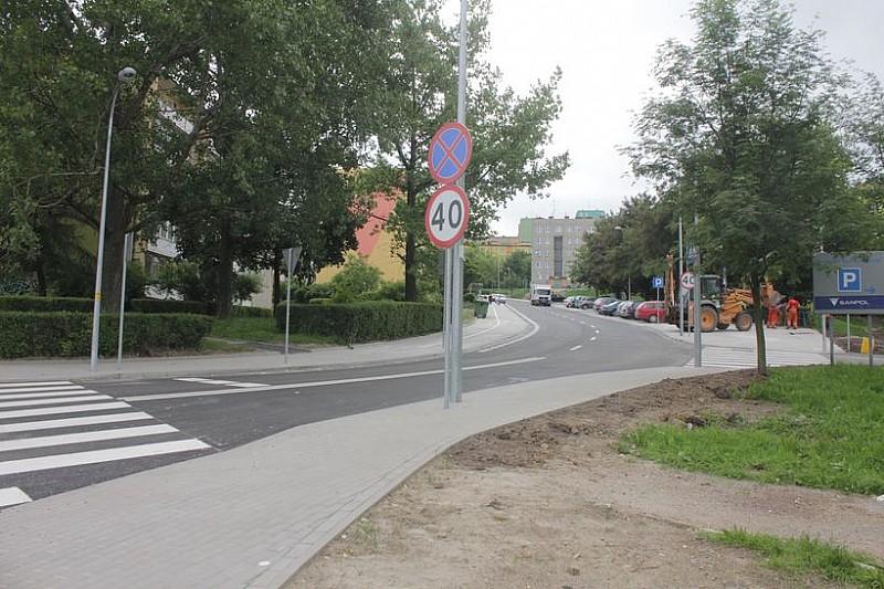 Remont ulicy Makuszyńskiego zakończony