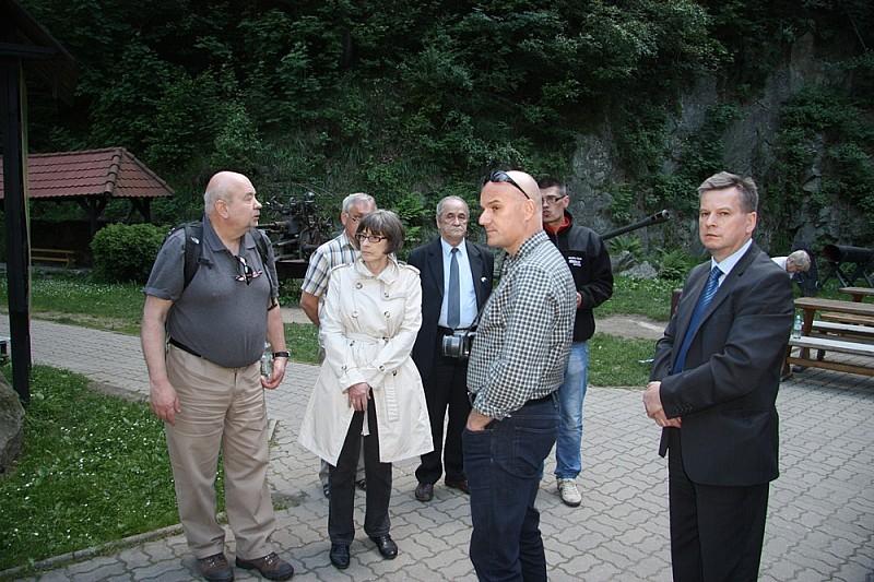 Goście z muzeium holokaustu