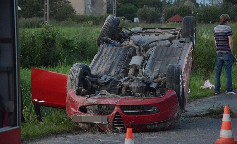 Wypadek w Witoszowie