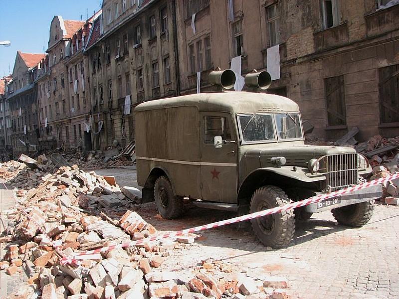 Czołgi wjechały do Wałbrzycha