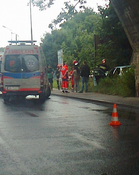 Wypadek na Podzamczu