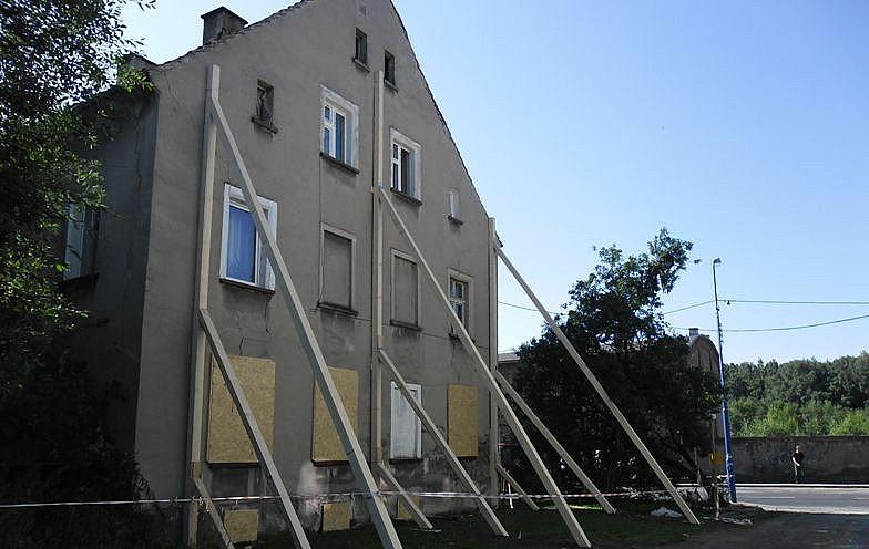 Dom w Gorcach do rozbiórki