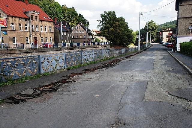 Utrudnienia dla kierowców w Głuszycy