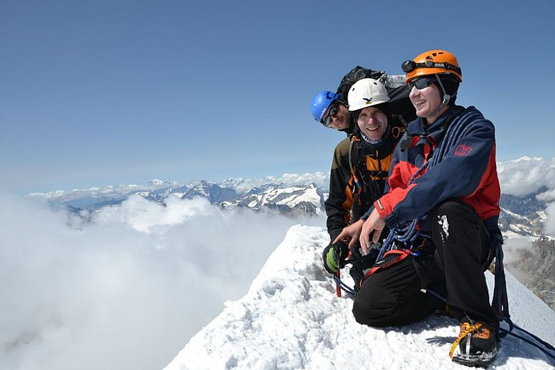 Zdobyli Matterhorn