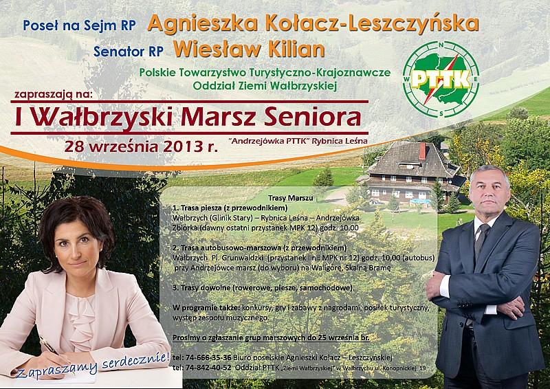 I Wałbrzyski Marsz Seniora