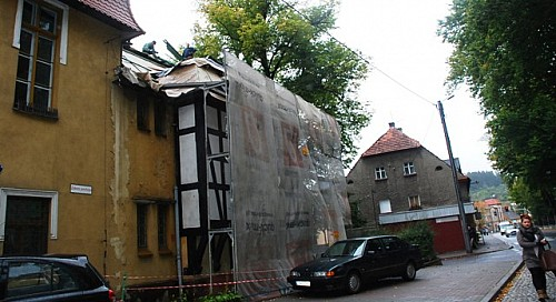 Remontują dach Centrum