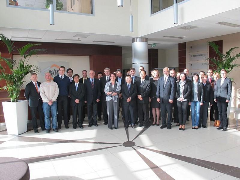 Spotkanie japońskich firm